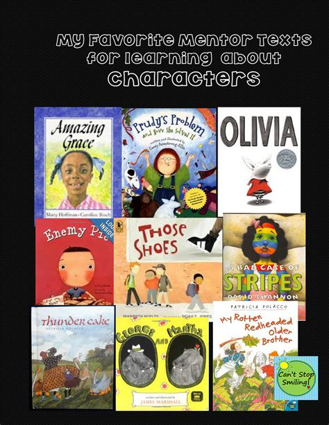 libro how texts teach what mentor texts to teach characters character traits how they change etc libros