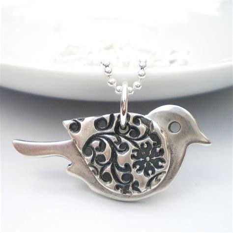 Ring Pendant By Bird by Orange Blossom Silver Bird Pendant By Ali Bali Jewellery