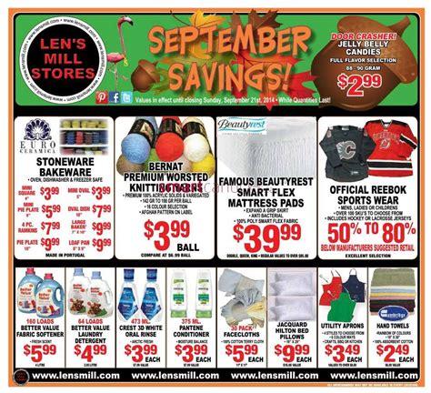 len store len s mill stores canada flyers