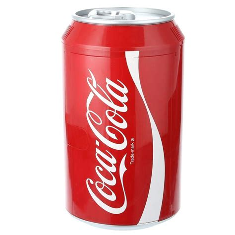 Freezer Coca Cola koolatron coca cola can cooler cc10 the home depot