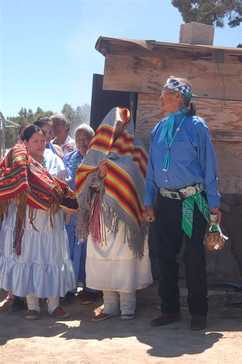 Navajo Wedding  About to Begin ? A Surly Bird's Eye View