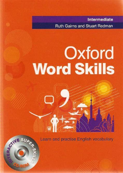 oxford word skills intermediate student s pack book and cd rom avaxhome