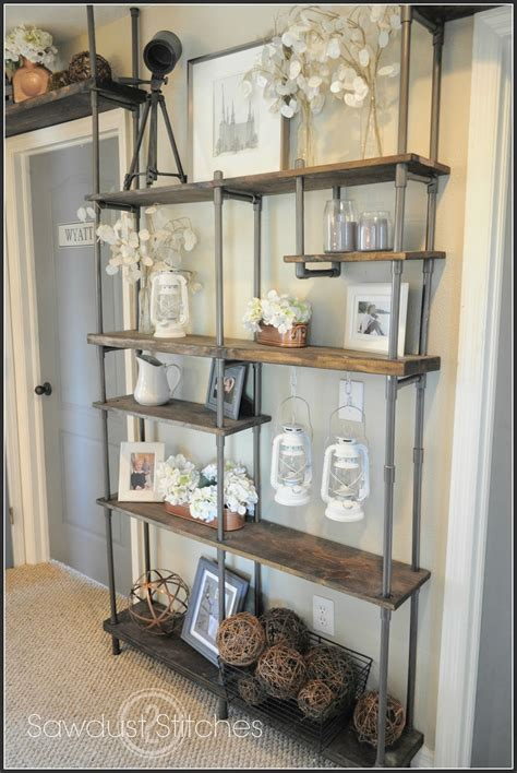 diy faux industrial shelves uncookie cutter