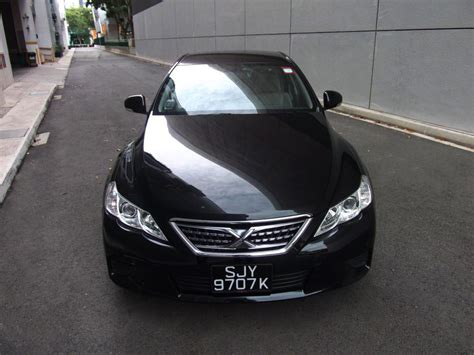 Rent a Toyota Mark X 250G by Ace Drive Car Rental