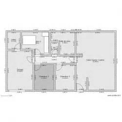 maison rectangulaire 110 m 178 plan 9 pi 232 ces 134 m2 dessin 233