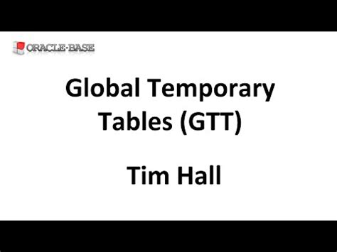 Oracle Temporary Table by Session Sequences In Oracle 12c Doovi
