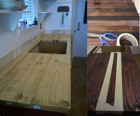 diy stainless steel kitchen counter tops on a budget do