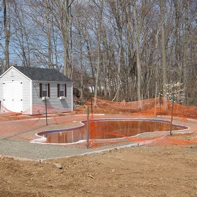Patio Formation by Brothers Pool In Ground Pool Construction Process