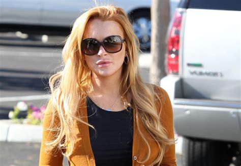 Lindsay Lohan Is A Stalker lindsay lohan has a stalker the blemish