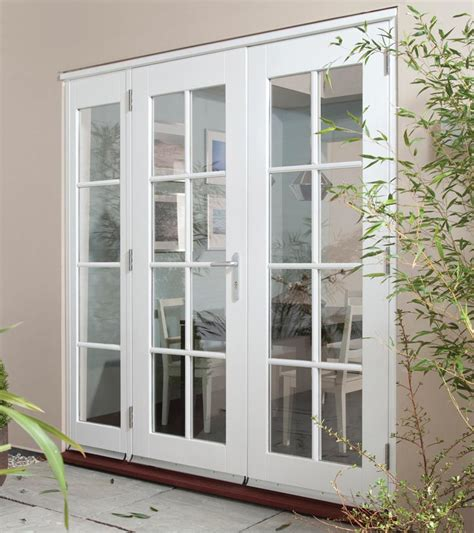 White Patio Doors Wellington White Wing Light Georgian Softwood Patio Doors