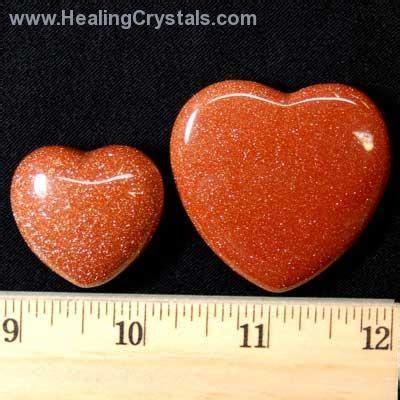 Batu Smoke Quartz hearts goldstone goldstone healing crystals