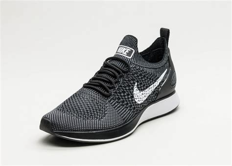 Sepatu Murahh Nike Flyknite Zoom Mf Black nike wmns air zoom flyknit racer prm black white grey asphaltgold