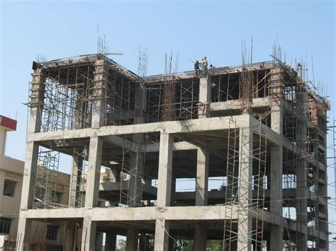 design of rcc frame steel structure vs rcc concrete structure buildings