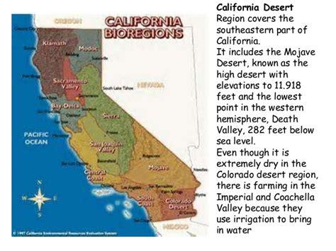 california map regions 4th grade california s amazing 4 regions