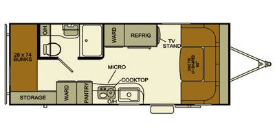 evergreen rv floor plans 2014 evergreen rv ascend series m 181bh specs and standard