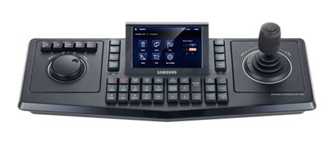 Joystick Cctv Samsung samsung spc 7000 ip system keyboard controller touch screen tft lcd interchangeable 3d