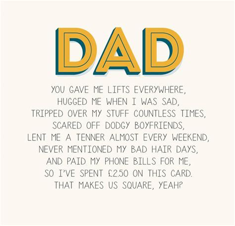 Cards For Dads Birthday Dad Father S Day Card By Paper Plane Notonthehighstreet Com