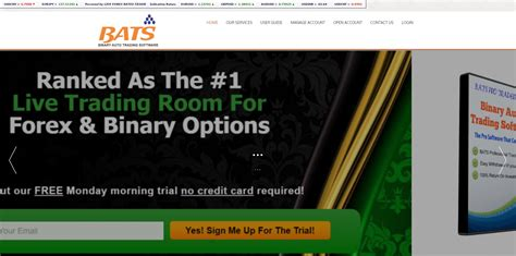 live trading room reviews warning binary auto trading software bats is an illegal service