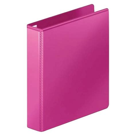Binder Lotso Pink 20ring mead 174 1 5 quot 3 ring binder pink target