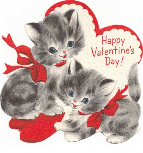 happy valentines day cat kitten clipart happy valentines day pencil and in color