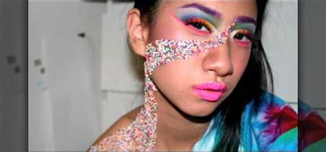 how to apply candy inspired rainbow makeup 171 makeup