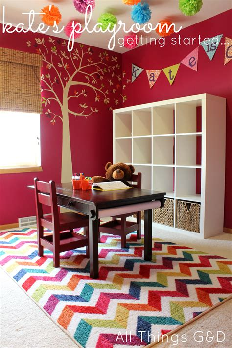 Kate S New Playroom A Mohawk Rug Giveaway All Things G D Rug For Playroom