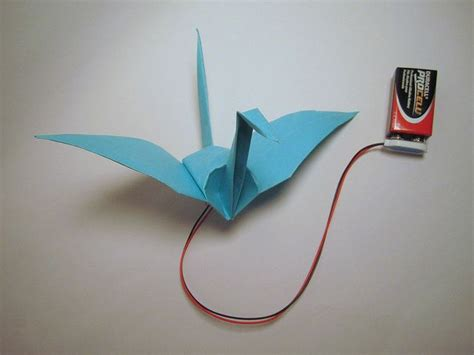 Origami Crane Flapping Wings - 1000 ideas about physics projects on physics
