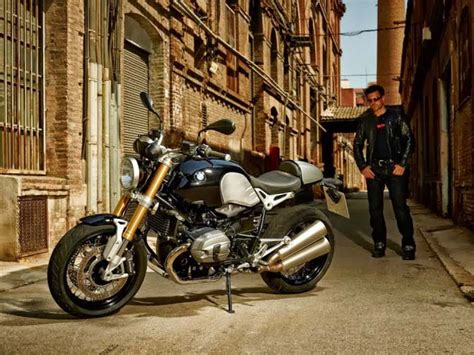 leaked   bmws  anniversary cafe racer