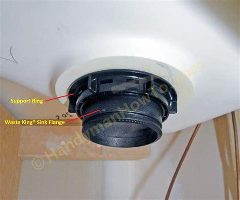 garbage disposal sink flange how to replace a garbage disposal part 3