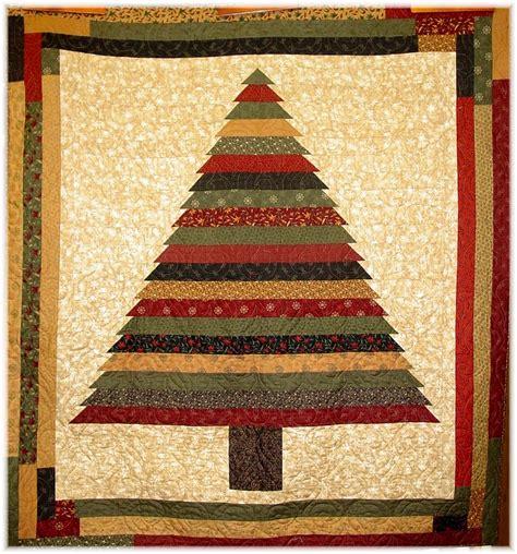 make a rag strip christmas tree cottage pattern originals quilt shop deb eggers quilt patterns