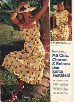 Micci Fashion Dress Aricha Navy 1977 burda moden i remember the cool cotton sundresses