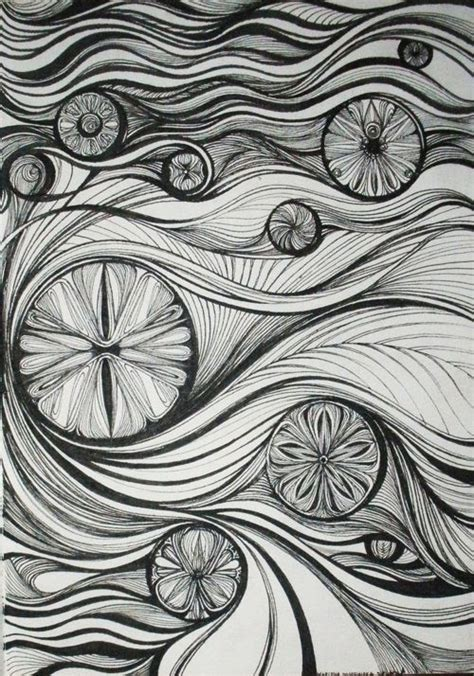rhythmic pattern drawing this is an exle of rhythm in the principles of design