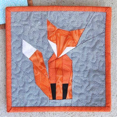 Foundation Patchwork Patterns Free - foundation paper pieced mr fox craftsy