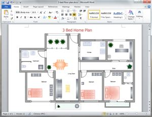 Free Home Plan Templates For Word Powerpoint Pdf Using Microsoft Powerpoint Templates