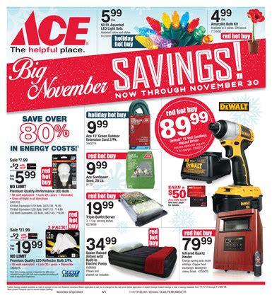 ace hardware flyer november ace hardware flyer
