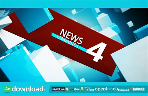 news channel free download videohive template free after