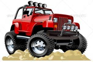Jeep Caricature Vector Jeep By Mechanik Graphicriver