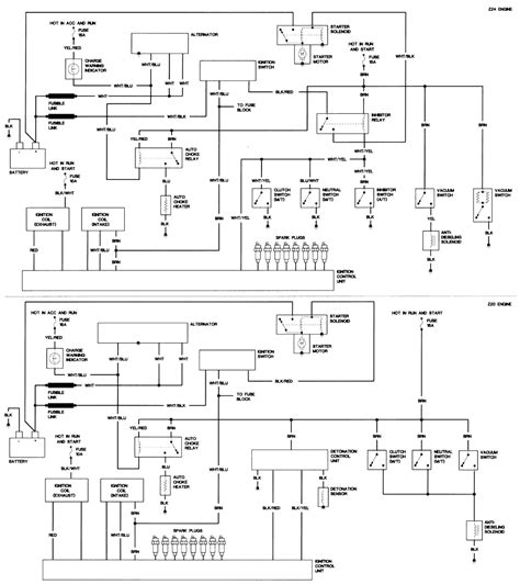 nissan z24 engine specification diagram 1989 nissan