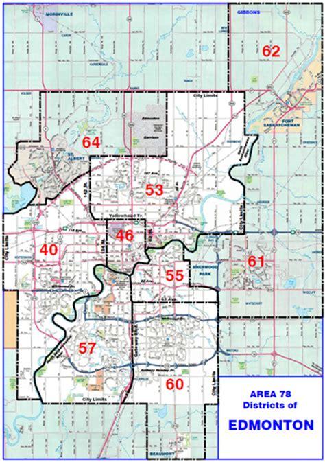 printable edmonton area map area 78 maps