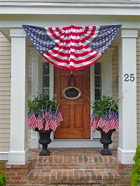 Patriotic Decor by Patriotic Porch 4th Of July Crafts Decor