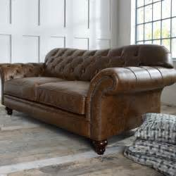 chesterfield brown leather sofa the chesterfield co leather chesterfield sofas