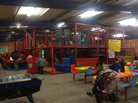soft play area  big barn picture  bicton park