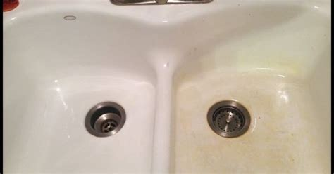 how to remove stains from a porcelain sink discover more