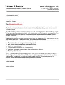Graduate Cover Letter by Finance Graduate Cover Letter