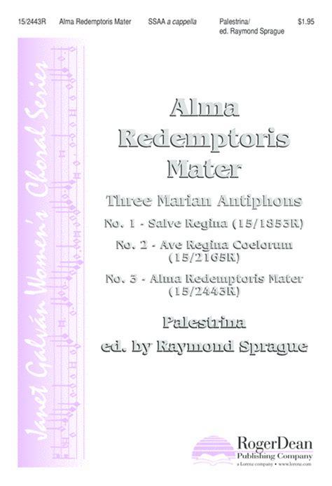 Cover Letter For At Alma Mater Alma Redemptoris Mater
