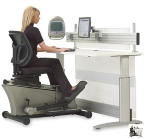elliptical machine office desk the 5 most outrageous office desks