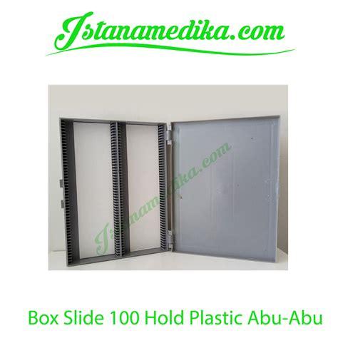 Jual Acrylic Warna jual box slide 100 hold plastik abu abu istana medika