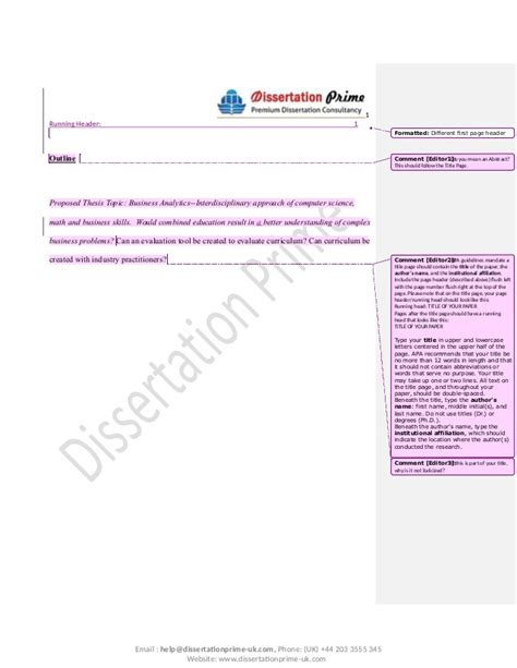 Uow Business Subject Outline by Editing Sle