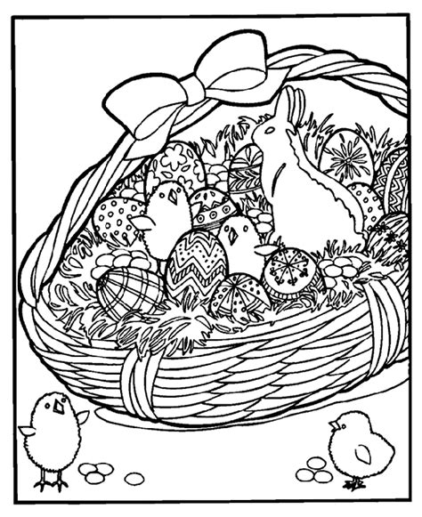 Easter Egg Coloring Pages Crayola