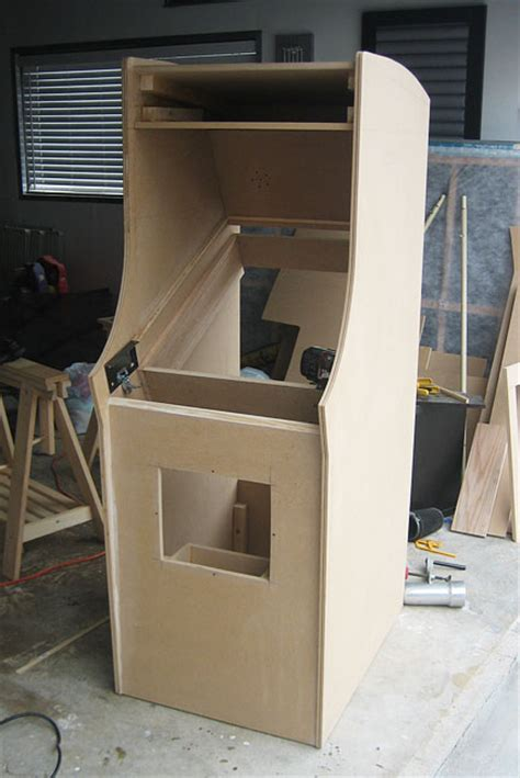 building an arcade cabinet woodmaking and geekery scratch building an arcade cabinet 56k go play burgertime ars